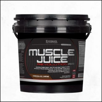 Гейнер Ultimate Nutrition Muscle Juice Revolution 2600 5,04 кг