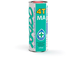 Синтетическое масло XADO Atomic Oil 10W-40 4T MA SuperSynthetic
