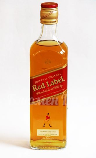 "Виски ""Johnnie Walker"" (Red Label) 0,5 л."