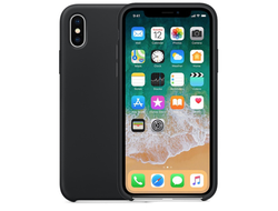 iPhone X Silicone Case черный
