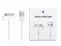 USB кабель 30 pin для iPhone (2, 3G, 3GS, 4, 4S) iPad (1, 2, 3,)