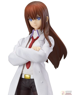 Фигурка Курису Макисэ  фигма (Makise Kurisu White Coat ver. by figma)