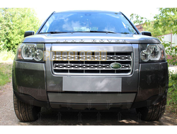 Защита радиатора Land Rover Freelander II 2006-2010 chrome
