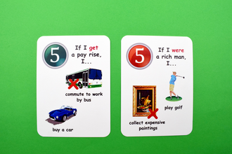 conditionals, creativo, fun cards