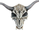 Маска Череп с Рогами (Skull mask with horns)