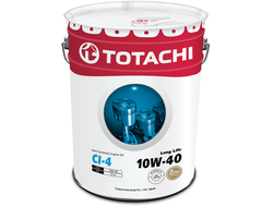TotachiLong Life Semi-Synthetic CI-4 10W-40, 20л