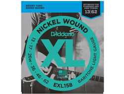 d addario 13-62 exl158 baritone light gauge