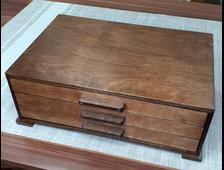 Коробка 50 ячеек, для коллекции камней и минералов