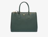 Prada Galleria Bag Emerald Green 35