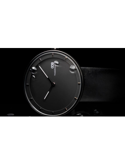 Часы Xiaomi TimeRolls COB time track quartz watch черные