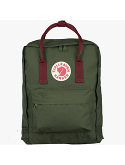 Сумка Fjallraven FOREST GREEN/RED