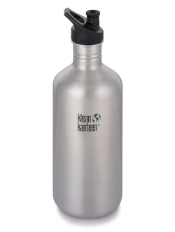 Бутылка Klean Kanteen CLASSIC SPORT 1900 мл (64oz) Brushed Stainless