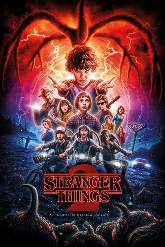 Постер Stranger things(Странные дела) PP34422