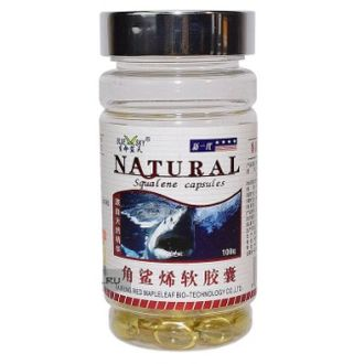 Капсулы Акулий Сквален Natural (Squalene Soft Capsules Natural)