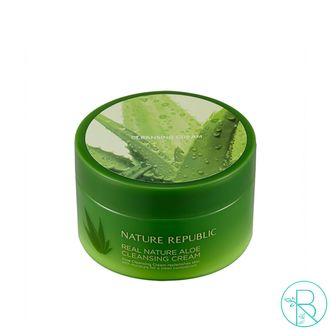 Очищающий крем с содой Nature Republic Real Nature Aloe Cleansing Cream (200мл)