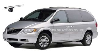 Дуги THULE для CHRYSLER Town & Country, DODGE Caravan