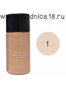 Крем Huda Beauty Miracele Shes Embellish Perfect BB Cream
