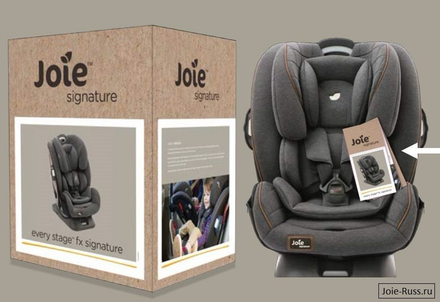 Joie every stage™ fx signature  Размеры: L 55 см х Ш 48-52.6 см х 66-85.5 см
