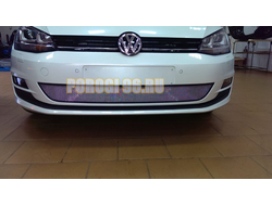 Защита радиатора Volkswagen Golf VII 2012-2017 chrome