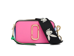 MARC JACOBS Snapshot Small Camera Bag Vivid Pink