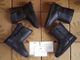 Угги Ugg Australia Michelle Leather Button Black арт: ua-Button Leather-001 (36-40)