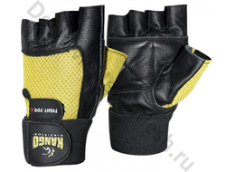 Перчатки для фитнеса Kango WGL-069 Black/Yellow