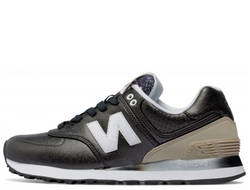 Унисекс New Balance 574 Gradient Black/Beige