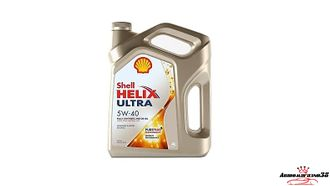 Shell Helix Ultra SAE 5W40 4л
