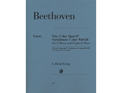 Beethoven Trio C major op. 87 · Variations C major WoO 28 for 2 Oboes and English Horn