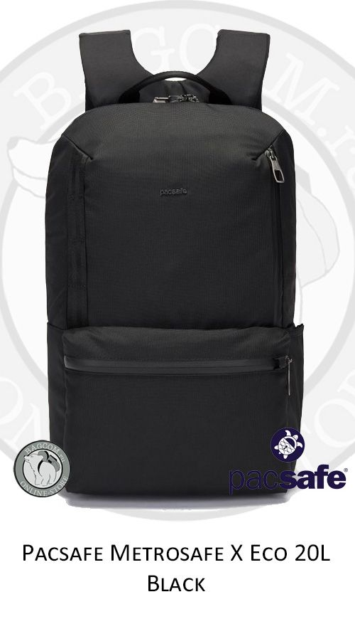 Pacsafe Metrosafe Eco 20L Black