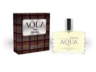 Aqua Platinum eau de toilette for men