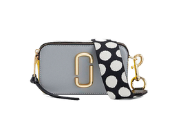 Marc Jacobs Snapshot Small Camera Bag ROCK GREY MULTI