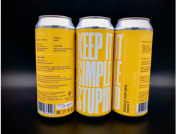 KEEP IT SIMPLE STUPID: Idaho 7 KISS APA КИСС АЙДАХО АПА 5,0% IBU 30 0,5л (180) Ostrovica в банке