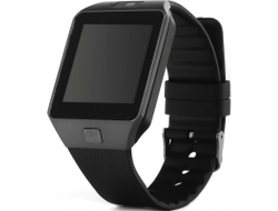 Часы Телефон Smart Watch DZ09 (Черный)