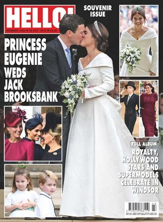 HELLO! Magazine № 1555 Princess Eugenie Cover  Иностранные журналы,Intpress