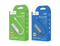 Хаб Hoco HB1 Type-C to 4xUSB