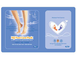 МАСКА ДЛЯ НОГ С ГИАЛУРОНОВОЙ КИСЛОТОЙ FOOT CARE PACK MIJIN