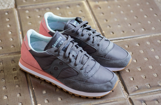 Мужские Кроссовки Saucony Jazz Original Charcoal/Pink