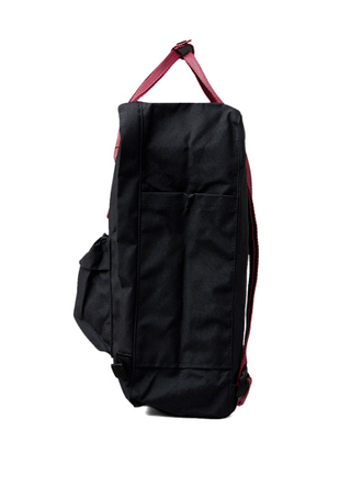 Рюкзак Fjallraven Kanken Black/Ox Red (550/326)