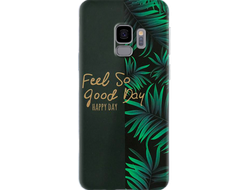 Чехол для Samsung с дизайном надписи Feel So Good Day