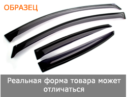 "Ford Explorer III 2002-2005; 2006/Lincoln Aviator 2002-2005 ""EuroStandard"" дефлекторы окон, к-т"