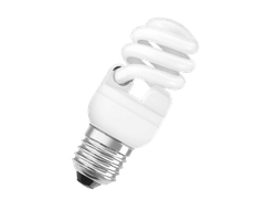 Лампа энергосберегающая Osram DuluxStar Mini Twist 23w/827 Lumilux WW 1400lm E27 110-130v