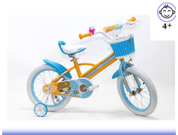 Велосипед HOGGER 16 Orange-blue Kiddy-bike