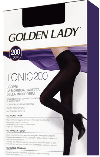 Golden Lady Tonic 200 den (2-5 размеры)
