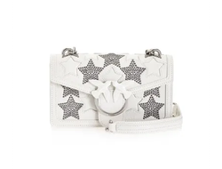 PINKO MINI LOVE BAG STARRY SKY С ЗАКЛЕПКАМИ