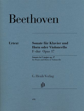 Beethoven Horn Sonata (or Violoncello) F major op. 17