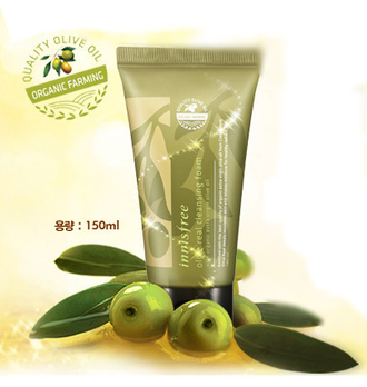 Пенка для умывания INNISFREE Olive Real Cleansing Foam