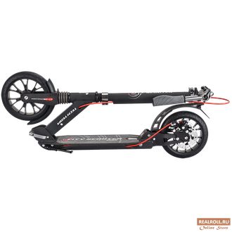 Самокат Tech Team TT City Scooter Disk Brake 2020 (Черный)