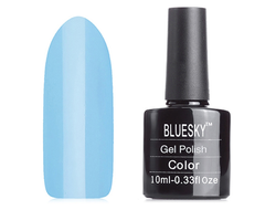 Гель-лак Shellac Bluesky №80555 Haven Blue, 10мл.