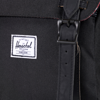 Рюкзак Herschel Little America Mid Volume Black/Black